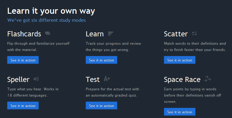 Quizlet: Computer and App Study Tool | Teaching the Visually