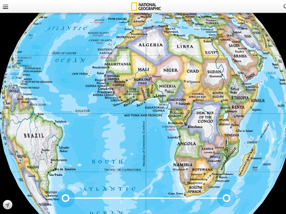 National Geographic World Atlas Review For Teachers