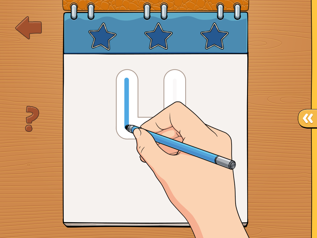 iTrace – Handwriting for kids Game