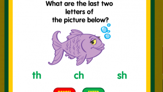 Kids will see a variety of question types.