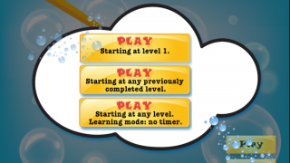There are three ways to play the game, with one mode just for practice.