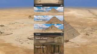 Multiple pyramids and tombs can be toured.