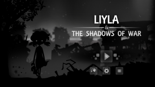 Title screen for Liyla and the Shadows of War
