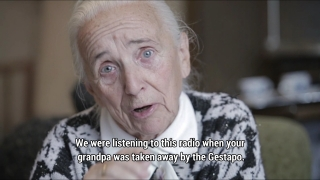 Much of the game features video interviews with the main character's grandparents or their friends and neighbors.