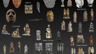 Students can actually manipulate famous artifacts.