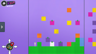Each color block represents a specific object type.