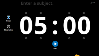 Online extras such as a timer or student picker add functionality.