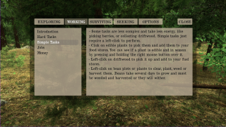 There's in-game help that gets expanded by reading various books found in the world.