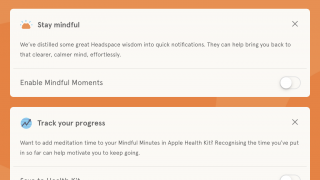 Set reminders and edit settings to fit your needs.
