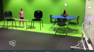 Kids can take videos of their scenes, which is especially neat if they include moving characters.