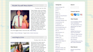 The linked Teen Speak blog is more up-to-date and engaging than the site itself.