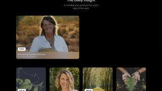 Choose from a curated selection of daily meditations.