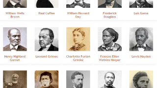 Learn about black abolitionists.