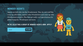 Kids can apply to become Wonderagents, a team of kids who help manage and shape the community.