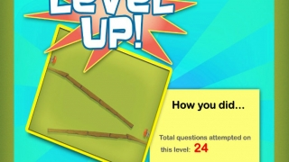 Kids can track their progress and level up.