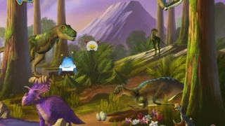 Kids can travel back in time to the flower-filled Cretaceous Period.