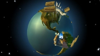 See the continents as they appeared during the Jurassic Period.