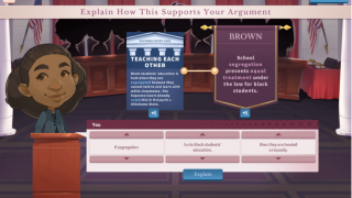 Gain extra points for further supporting your argument.
