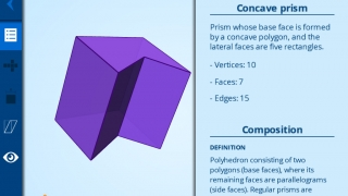 Kids can learn the definitions and attributes of three-dimensional shapes.