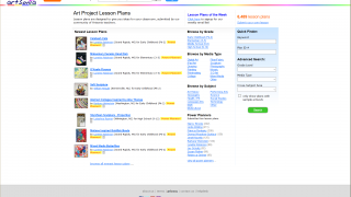 On the site, teachers have access to thousands of lesson plans.