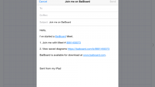 Invite others who use iPads or Mac computers to view or add to the boards.