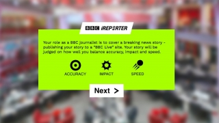 Join the BBC's social media team and earn points for speed, impact, and accuracy.