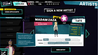 Sign new artists to keep your music catalog diverse.