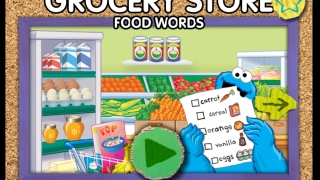 At the homescreen, click the green button to start collecting words.