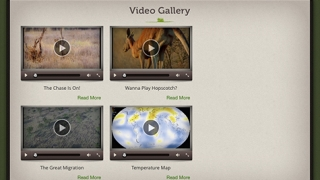 Interesting videos keep kids engaged and can be set with closed captioning.