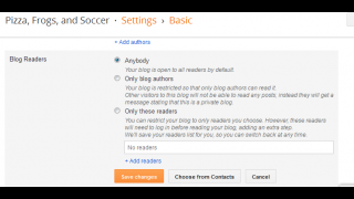 A variety of safety settings give users a range of options.