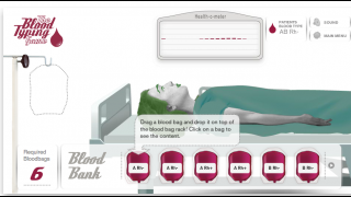 Choose which blood type will work for the patient.
