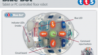 Students will be able to see Blue-Bot's inner components and speculate about their functions.
