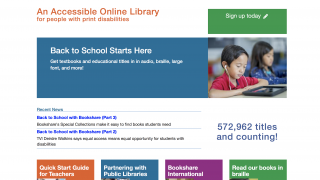 The homepage provides different entry points, including a helpful Quick Start Guide for Teachers.