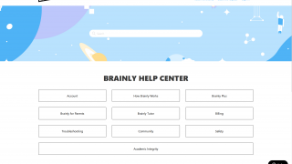 There's a small help center with FAQs.