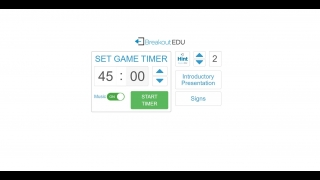 Facilitate a game from a digital interface.