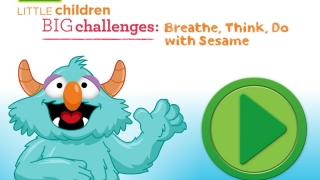 Blue monster teaches kids how to calm down and think through frustrating situations.