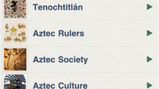 "Entries like ""Who Were the Aztec?"" make up the bulk of the content."