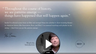 Ken Burns provides narration and commentary on the collection.