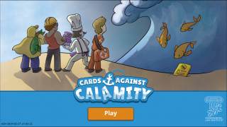 In this game, you are mayor of a town that's about to be hit with a natural disaster.