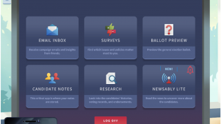 Along the way you unlock new tools to help you decide who and what to vote for.