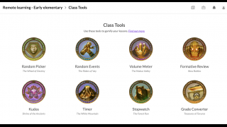 Choose from a variety of class tools to mix up lessons and increase student engagement.