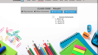 Provide students with a simple class code from the teacher dashboard.