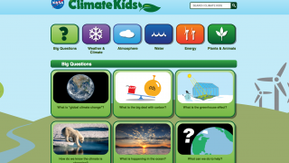 The site brings essential questions about climate change to the forefront.