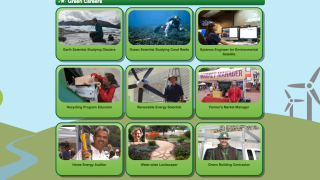 The site highlights careers in science and engineering.