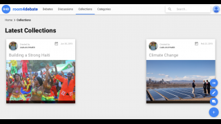 Multiple posts on related topics can be sorted into collections.