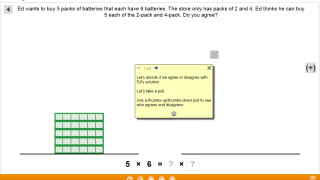 Teachers can use closers for class discussions about lessons after students complete individual computer work.