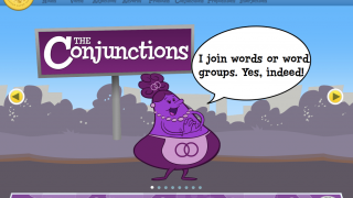 Kids can find great insights on how conjunctions join words and phrases.