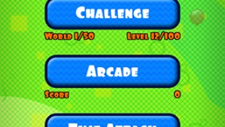 Three different play modes add to fun, challenge.