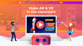 CoSpaces Edu home page
