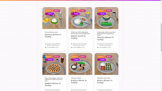 In June 2020, CoSpaces Edu featured a global project to share what regional food is like.